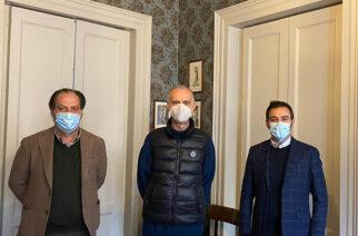 IL VESCOVO RASPANTI INCONTRA I FONDATORI DEL PRONTO SOCCORSO PSICOLOGICO ITALIA