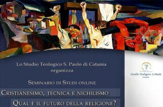 """STUDIO TEOLOGICO SAN PAOLO CATANIA: """"QUALE FUTURO PER LA RELIGIONE?"""""""