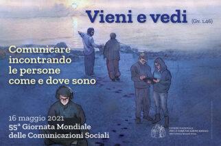 DOMENICA 16 MAGGIO, GIORNATA MONDIALE DELLE COMUNICAZIONI SOCIALI