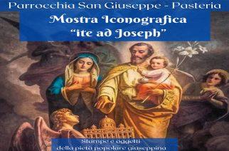 PASTERIA, MOSTRA ICONOGRAFICA SU SAN GIUSEPPE
