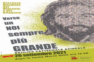 DOMENICA 26 SETTEMBRE, GIORNATA MONDIALE DEL MIGRANTE E DEL RIFUGIATO